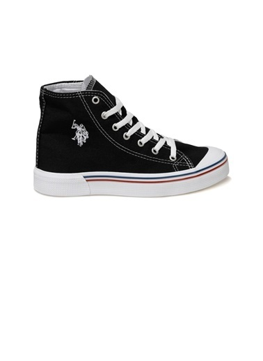 U.S. Polo Assn. Penelope High 1Fx Erkek Sneaker Siyah